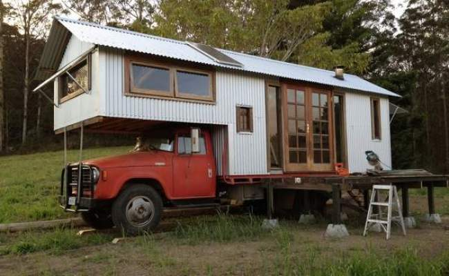 Housetruck That Looks Like A Tiny House
