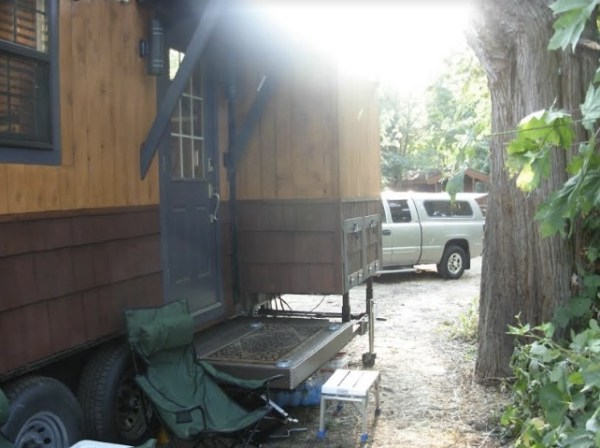 Custom Steel Frame Tiny House with 2 Slide Outs, the