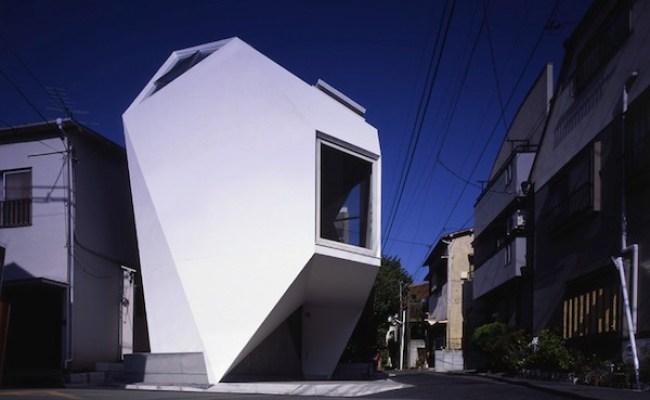 Modern Minimalist Small House In Tokyo