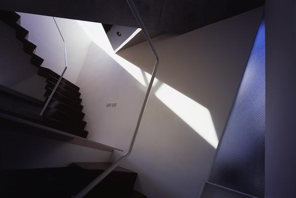 Interior of Minimalist & Small Modern House in Tokyo