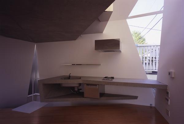 Kitchen of Minimalist & Modern Small House