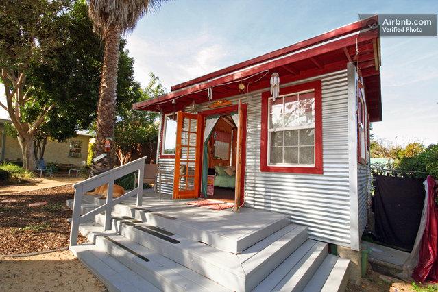 Rustic Micro Cabin Rental 05