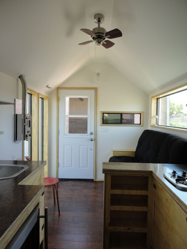 Interior of Shane and Carrie's Tiny House