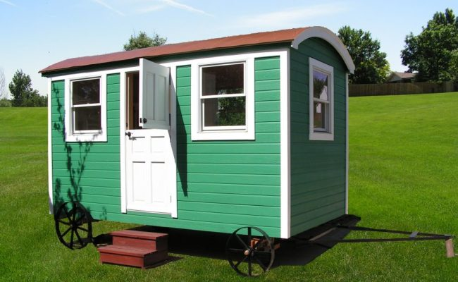 Man Brings Shepherds Hut Micro Cabins To The United States