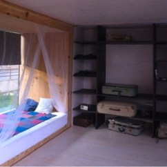 Small Storage Unit For Living Room Furniture Florida Portable Tiny House On Stilts