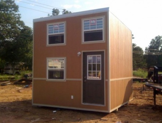 The Slabtown Cube Tiny House 12 x 12 Micro Home