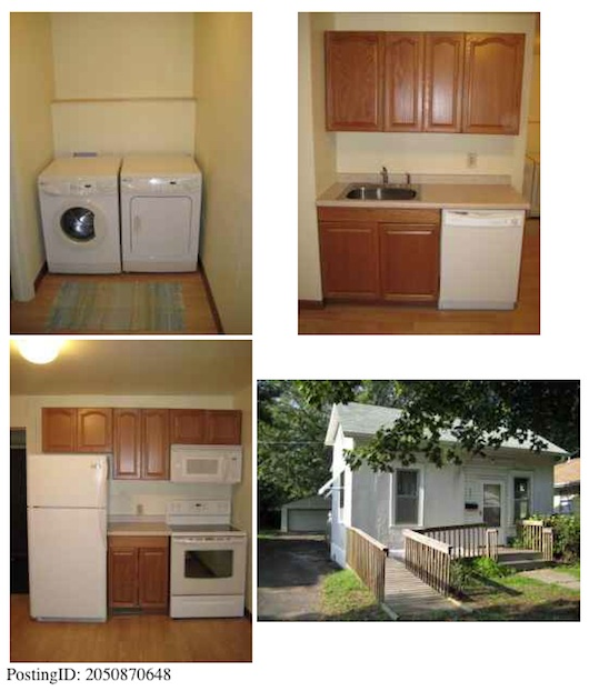 Small House on Craigslist - Pictures