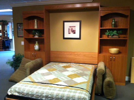 Small Space Furniture 19 with Murphy Beds  Desks