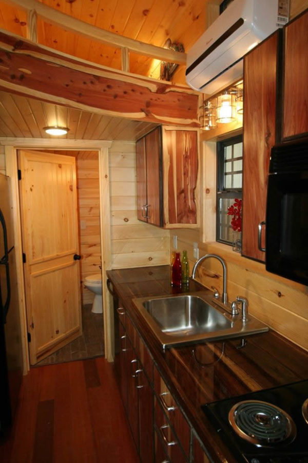 260 Sq Ft Tiny Home on Wheels by Southeastern Tiny Homes