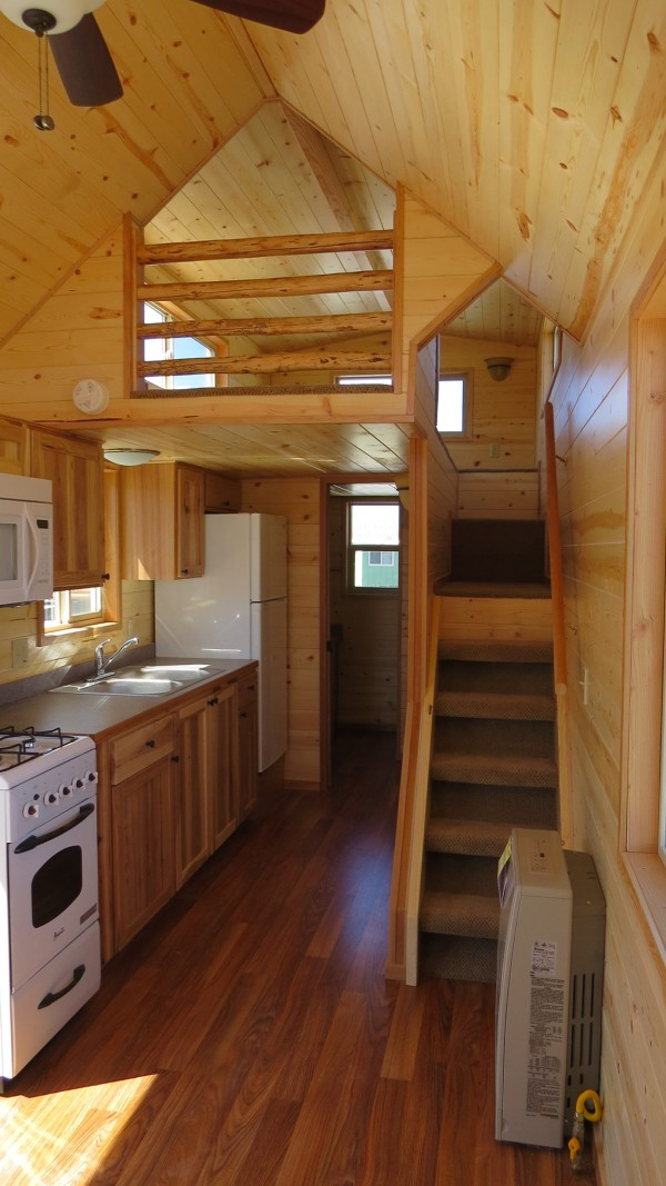 Spacious Tiny House Living in Richs Portable Cabins