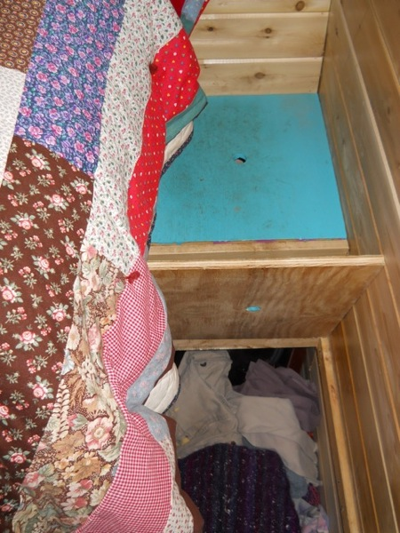 Jane's Solar Powered Tiny House with Composting Toilet, Food Storage and Bedroom (5)