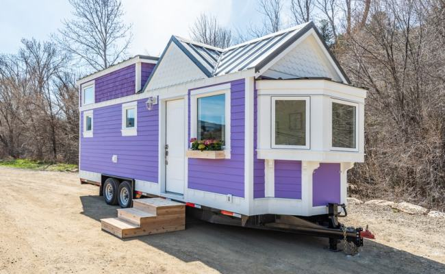 The Purple Heritage Summit Tiny Homes Classic With A Pop