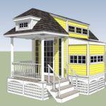 Jay's Expanding 8x12 Sunday Tiny House
