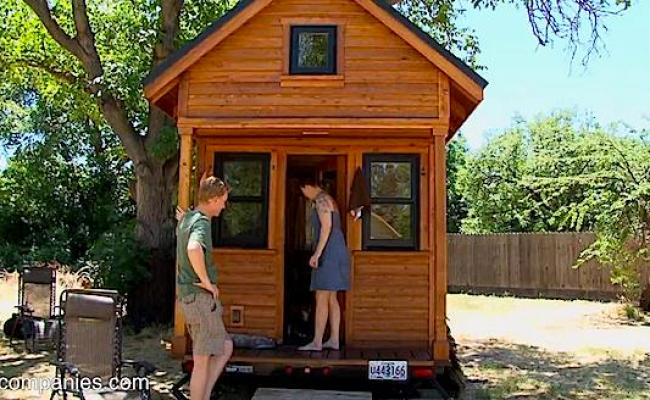 Tiny House Couple Living Mortgage Free And Car Free