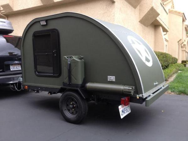 Man Builds 2k Military Style Teardrop Trailer