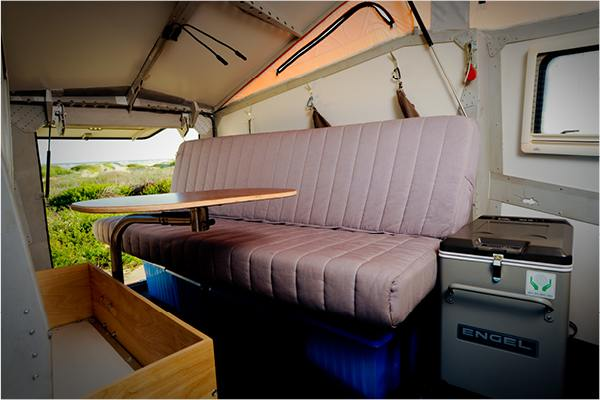rear kitchen travel trailers bosch package the cricket trailer: rv with low costs to combat ...