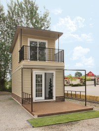 The Eagle 1: A 350 Sq. Ft. 2-Story Steel Framed Micro Home