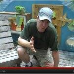 Little Blue Bump Micro Cabin by Deek of Relaxshacks