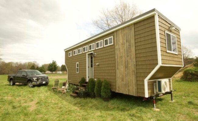 208 Sq Ft Tiny House On Wheels In Fredericksburg Va