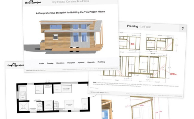 The Tiny Project Modern Tiny House Plans