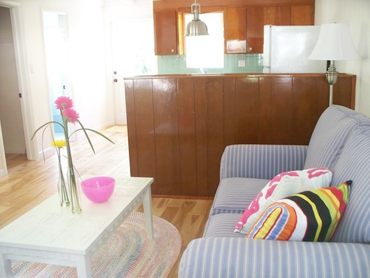 Living Room inside Tiny House