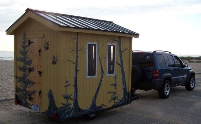 Tiny Bunk House A Stick Built Travel Trailer For Sale
