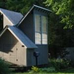 Tiny House for Meditation by Jeffery S Poss
