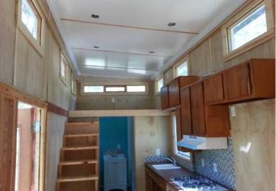 256 Sq Ft Tiny House On Wheels For Sale
