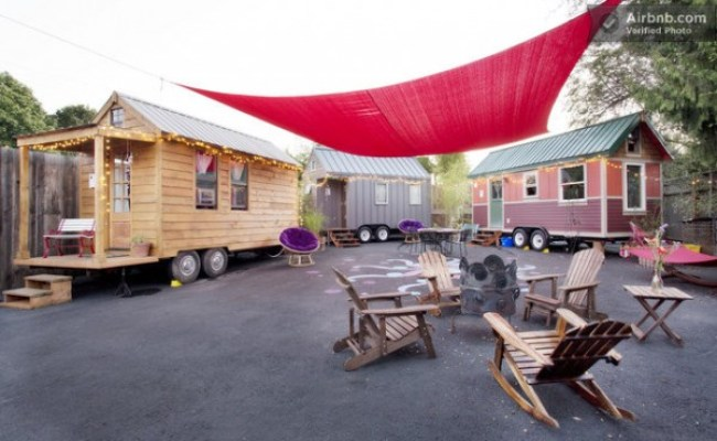 The Tiny House Hotel In Portland Which Would You Stay In