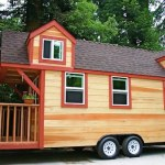 Tiny House on a Trailer - 2 Lofts and a Big Porch