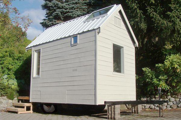 Tiny House on a Trailer less than 100 SF