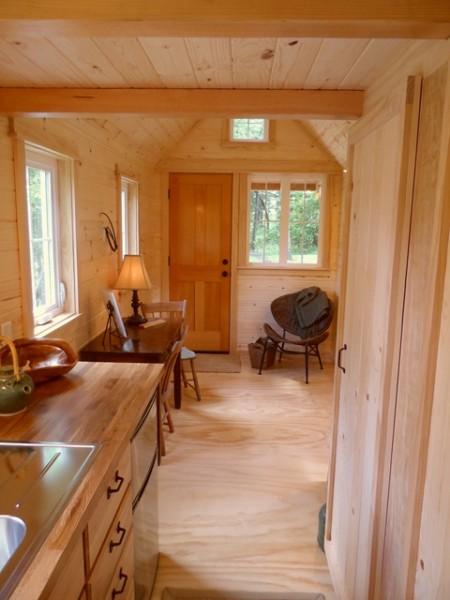 Ynez Tiny House on Wheels by Oregon Cottage Company