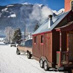 Tiny House Ski Adventure Photo by Neil Provo