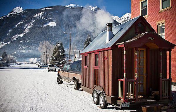 Tiny House Ski Adventure Photo by Neil Provo