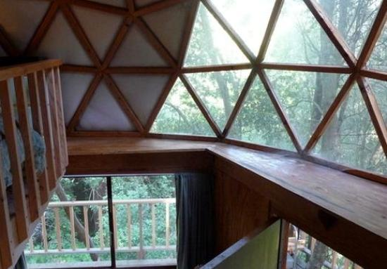 tiny-mushroom-dome-cabin-view-from-loft