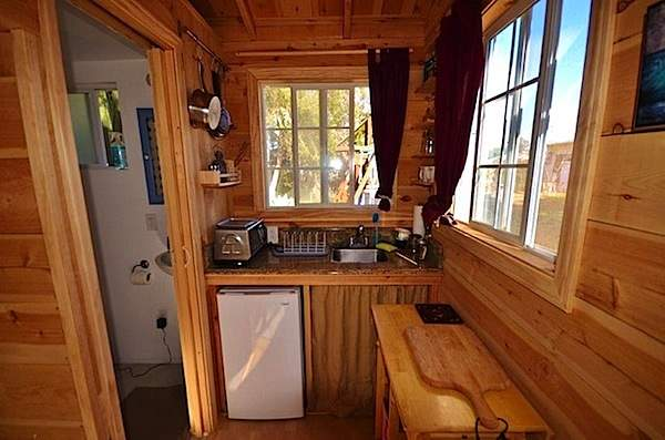 Superb California Tiny House Kitchen
