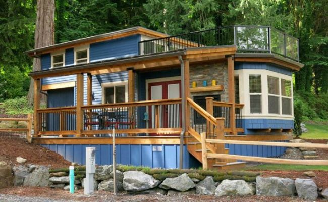 Townsend Park Model Cottage At Exclusive Tiny Living