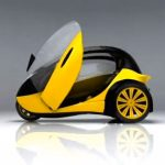 Trivia - Electric-powered Tricycle Concept Vehicle