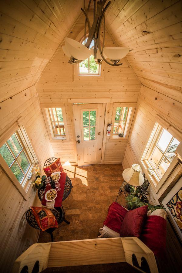 build your own kitchen cabinet door elm 18 overlook: 117 sq. ft. tumbleweed tiny home on wheels