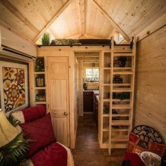 Kitchen Wall Shelf Lowes Sinks And Faucets Elm 18 Overlook: 117 Sq. Ft. Tumbleweed Tiny Home On Wheels