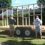 DIY Tiny House Construction Project