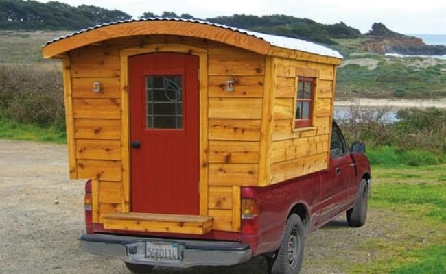 Wooden Truck Camper Tiny House Talk