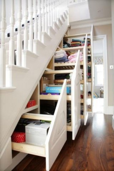 Tiny House Furniture Fridays #22 Staircase Storage Beds & Desks