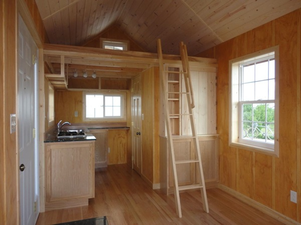 Father and Son Create Amazing 200 Sq Ft Tiny Cabin for