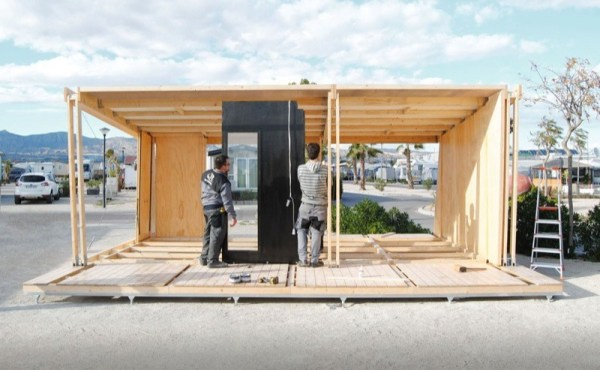 Vivood Prefab Tiny House Assembles In One Day