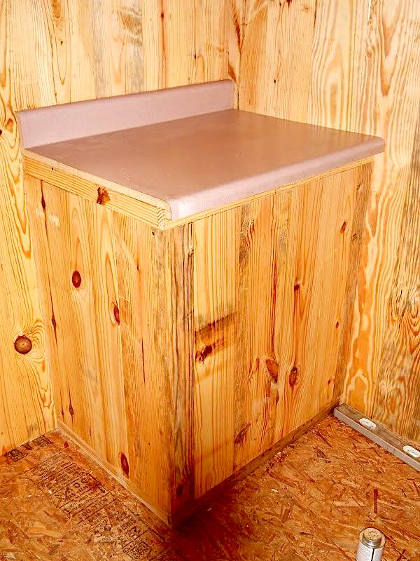 used kitchen cabinets for free cabinet sliding shelves how to build a mortgage-free small house $5,900