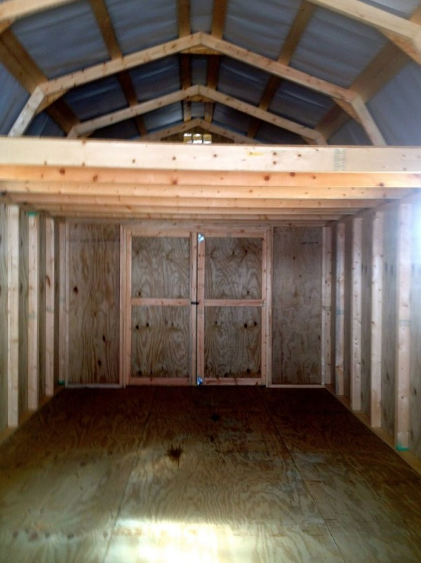300 Sq Ft Barn to Tiny Cabin Conversion