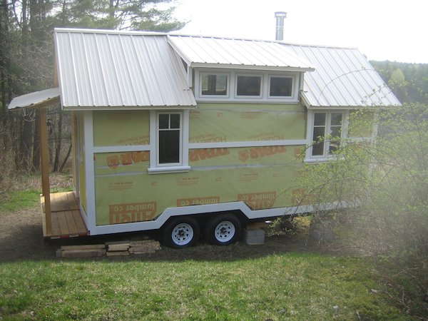 Yestermorrows Design Build School and their Tiny House on Wheels Project