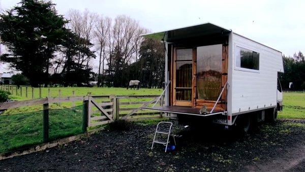 DIY Tiny House Truck