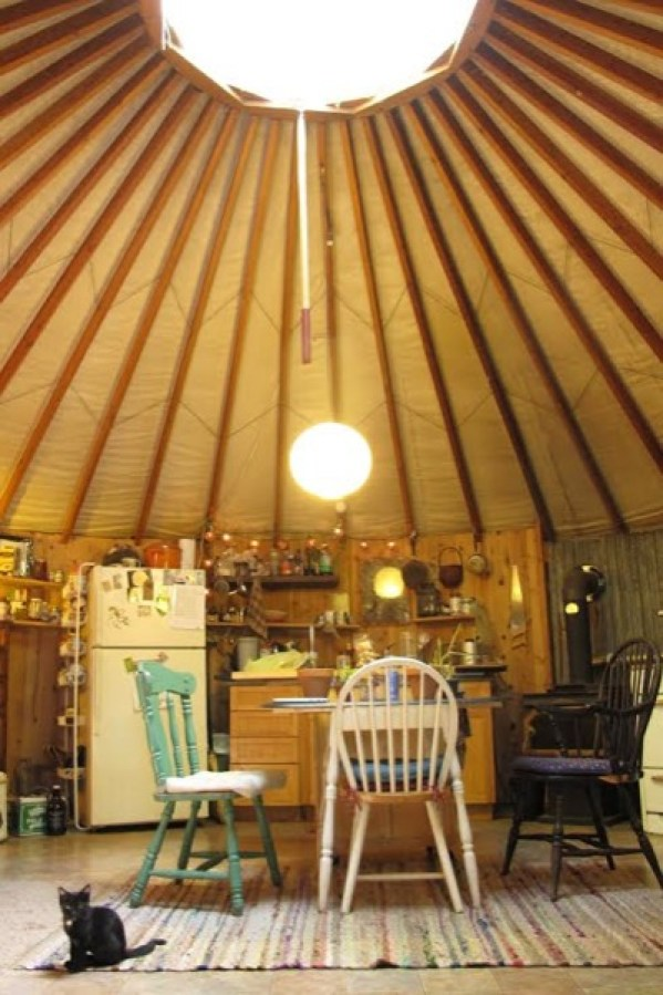 432 Sq Ft Artist Studio Yurt In Northern California